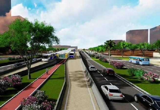 Obra do BRT de Salvador já possui autorização ambiental
