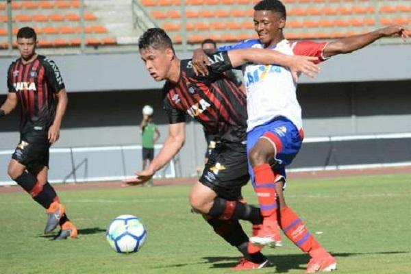 Esquadrãozinho empata com o Atlético-PR na estreia da Copa do Brasil Sub-20