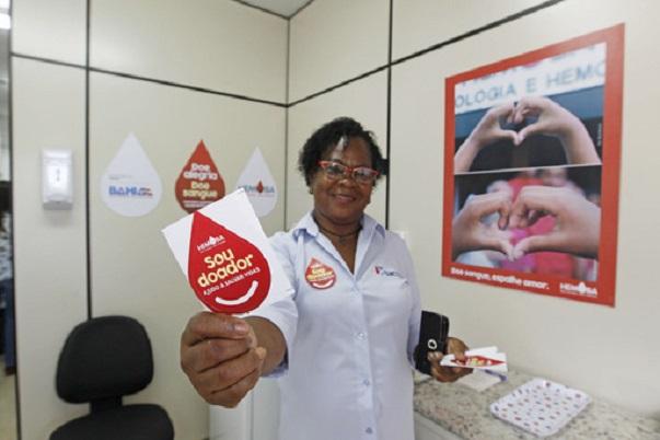 Hemoba promove Sabadão Solidário para abastecer estoques de sangue