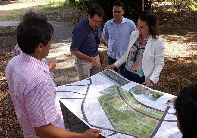 Sedur avança projeto de requalificação do Horto de Camaçari