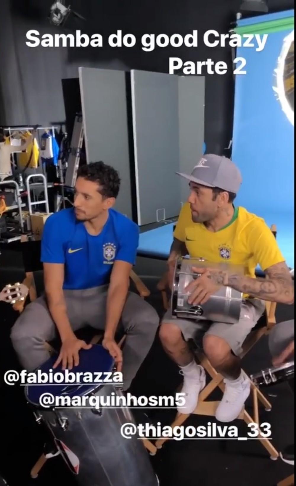 Novas camisas da Seleção aparecem em vídeo de Daniel Alves; assista