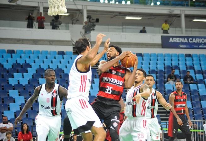 NBB: Universo/Vitória perde para o Flamengo no Rio de Janeiro