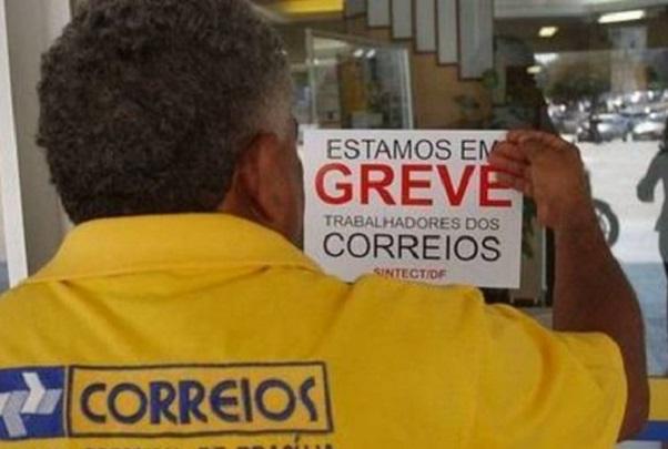 Funcionários dos Correios entram em greve por tempo indeterminado
