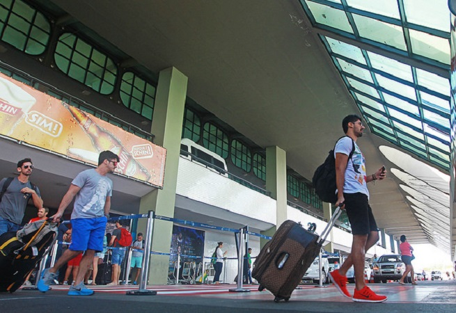 Tráfego de passageiros internacionais cresce quase 20% no aeroporto de Salvador