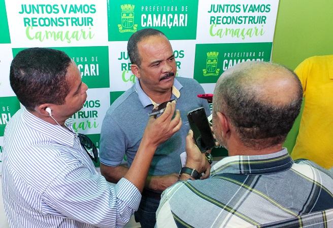 Elinaldo discutirá retomada das obras do Rio Camaçari com o ministro das Cidades