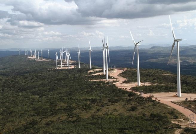 Energia eólica já responde por quase 90% do consumo do Nordeste