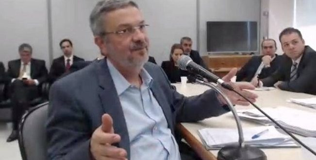 Palocci diz em delação que informação ao BTG gerou propinas para Lula e Dilma
