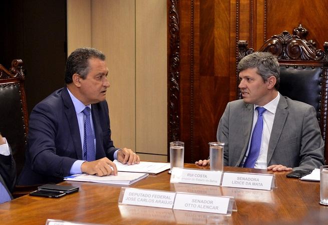 Governador e ministro dos Transportes debatem a Fiol e duplicação da BR-415