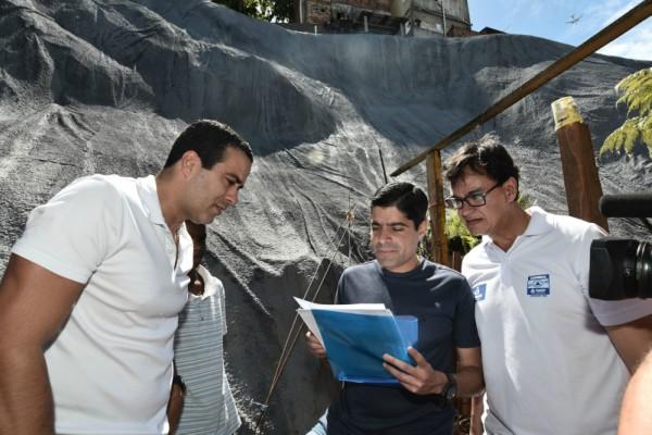 Prefeitura de Salvador vai entregar duas contenções de encosta no Marotinho