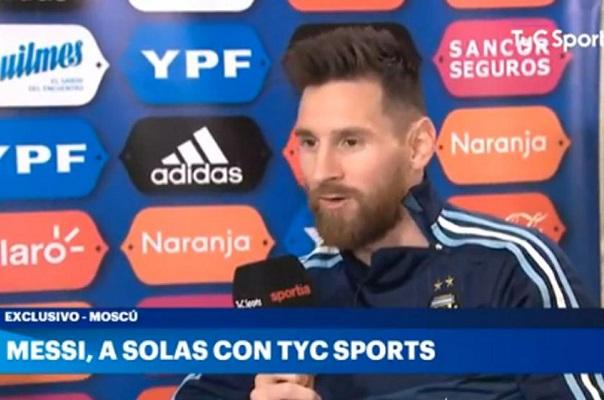 """Messi diz que """"Neymar no Real Madrid seria uma lástima"""""""