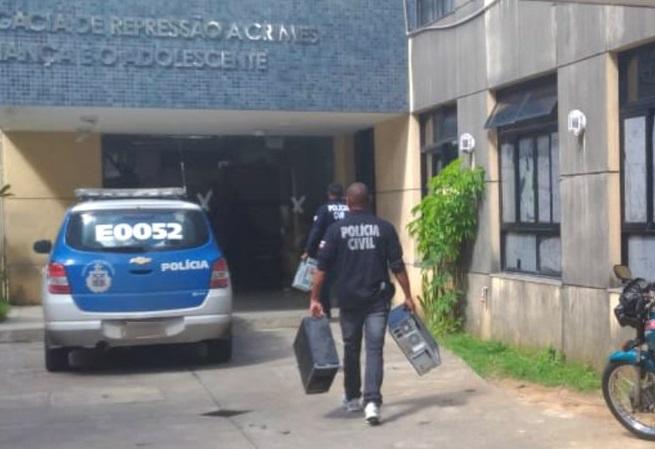 Operação contra pedofilia prende 10 pessoas na Bahia
