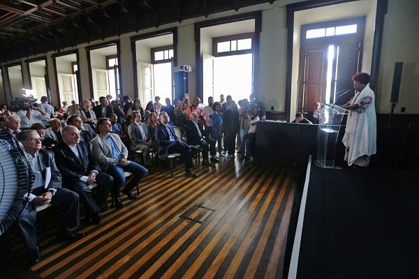 Governador abre a Flica 2018 no Palácio Rio Branco