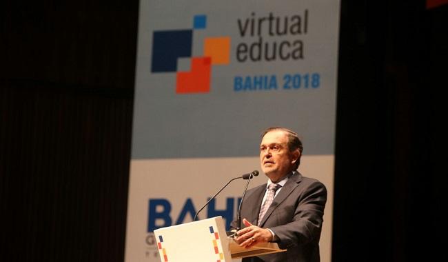 Evento mundial Virtual Educa é aberto no Teatro Castro Alves