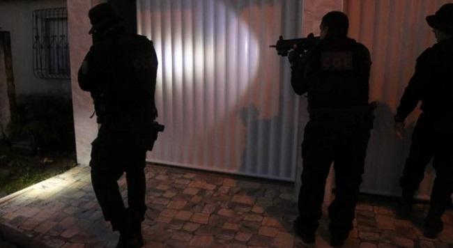 PM e Civil realizam operação contra o tráfico em Valença