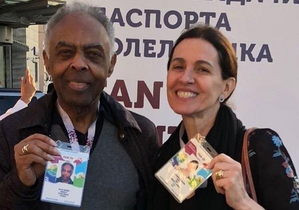 Show de Gilberto Gil é cancelado na Casa Brasil em Moscou