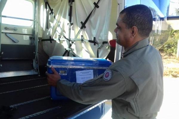 Graer transporta 49 bolsas de sangue para hospitais em Salvador