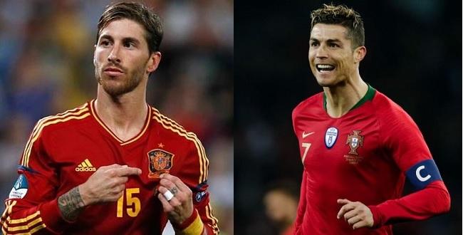 Copa tem 3 jogos nesta sexta com destaque para Portugal e Espanha; confira