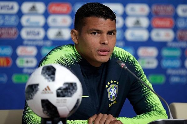 Thiago Silva será o capitão do Brasil contra a Costa Rica