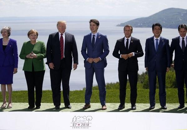 Trump diz que G-7 deveria criar zona comercial livre de tarifas