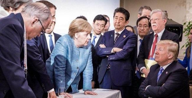 Trump se irrita com líder do Canadá e EUA não assinam declaração do G7