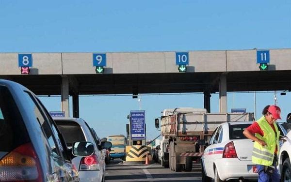 Tarifas do pedágio na Linha Verde terão aumento a partir de segunda-feira