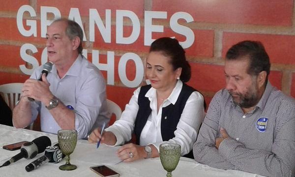 Kátia Abreu vai escrever programa de Ciro para a agricultura