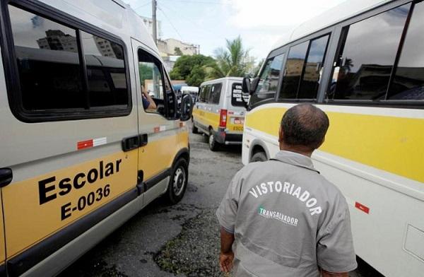Inspeção do transporte escolar em Salvador começa nesta segunda