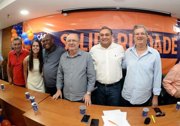 Convenção do Solidariedade confirma apoio à candidatura de José Ronaldo