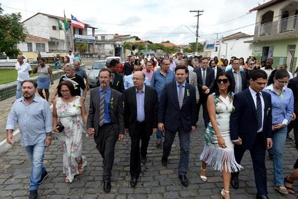 Muritiba: José Ronaldo recebe apoio do prefeito Danilo de Babão