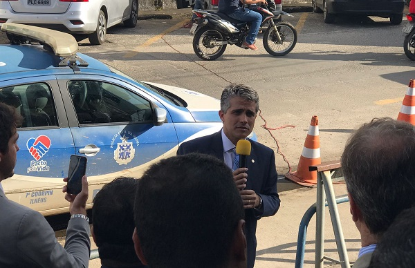 Fabrício Castro participa de ato de desagravo público na 7ª Coorpin em Ilhéus