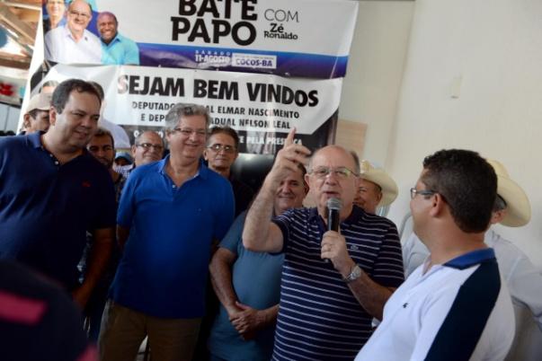 Zé Ronaldo recebe o apoio de lideranças políticas em Cocos