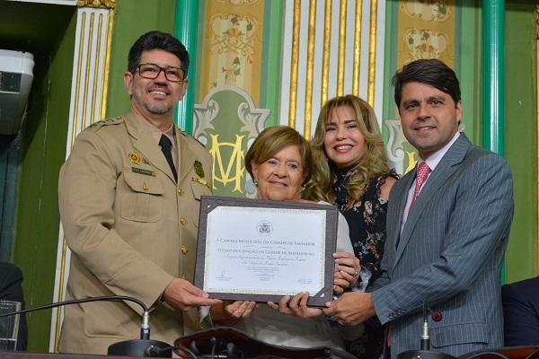 Superintendente da PRF recebe Título de Cidadão de Salvador