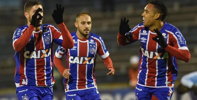 Bahia empata em 1 a 1 com o Cerro e avança na Sul-Americana; veja os gols