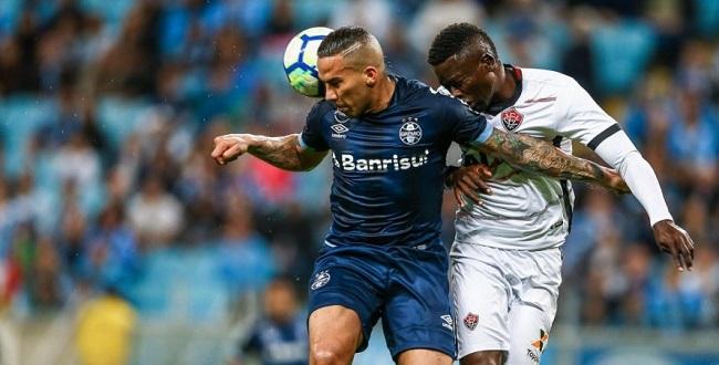 Vitória leva 4 a 0 do time reserva do Grêmio; veja os gols