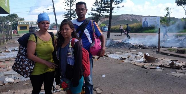 Refugiados da Venezuela chegam nesta quinta à Bahia