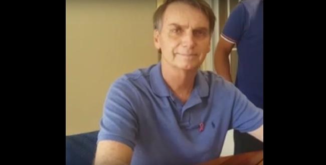 Resultado de imagem para Jair Bolsonaro grava vídeo de apoio a Zé Ronaldo