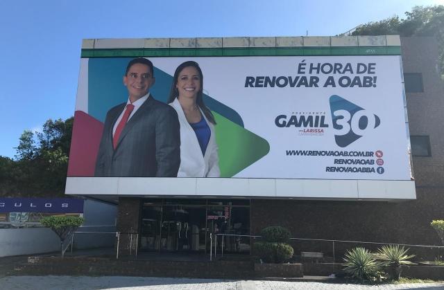 Eleições na OAB-BA: Gamil vai inaugurar comitê nesta sexta em Salvador