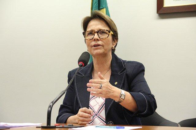 Tereza Cristina representa o Brasil na maior feira de alimentos do mundo