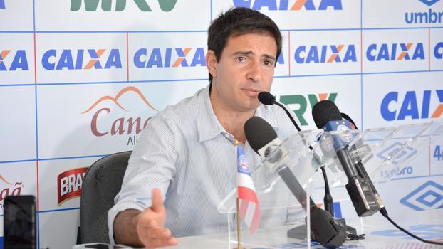 Diretor de futebol do Bahia confirma permanência de Enderson Moreira em 2019