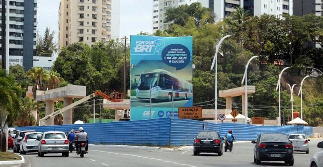 Justiça dá prazo de cinco dias para Inema autorizar obras do BRT de Salvador
