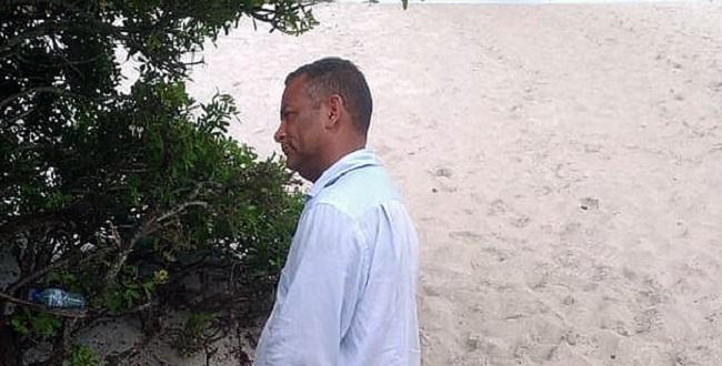 Vereador Vado Malassombrado é encontrado nas dunas de Itapuã