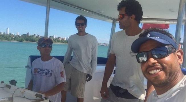 MPF denuncia três britânicos por tráfico de drogas em veleiro que saiu de Salvador