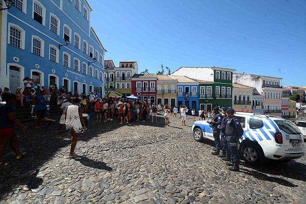 Guarda Civil Municipal intensifica ações no Centro Histórico de Salvador