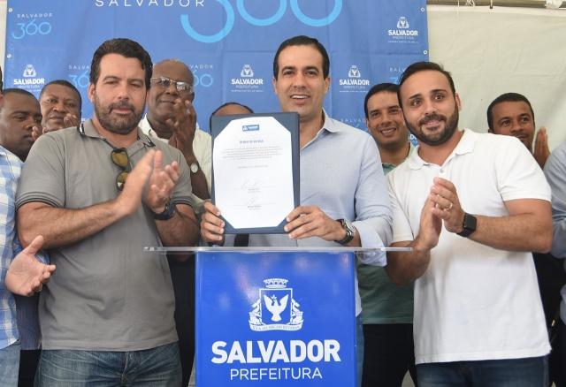 Bruno Reis autoriza a reconstrução de escola no Pau Miúdo