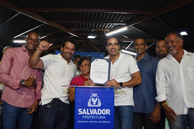 Bruno Reis autoriza Morar Melhor para 200 casas em Mussurunga