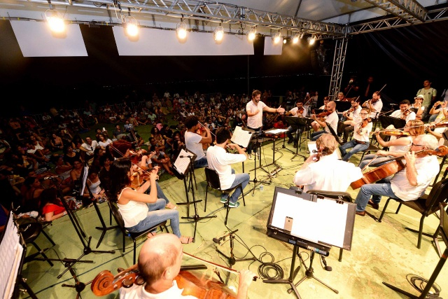 Osba apresenta concerto de graça no Forte São Diogo