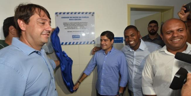 Mata Escura recebe 12ª unidade de saúde entregue em Salvador em três meses