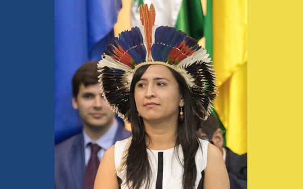 Damares nomeia indígena como secretária nacional de Promoção Racial