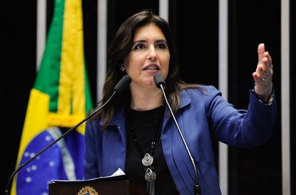 Simone Tebet diz que disposição de Moro de comparecer ao Senado é louvável