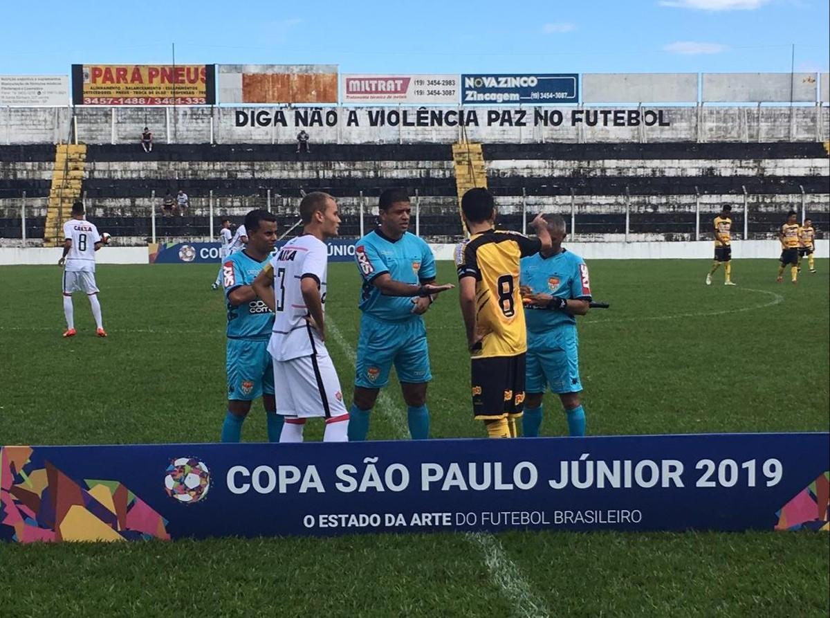 Sub-20 do Vitória bate o Novorizontino por 1 a 0 na Copinha